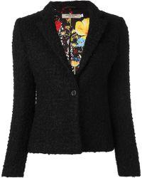Piccione.piccione - Tweed Blazer - Lyst