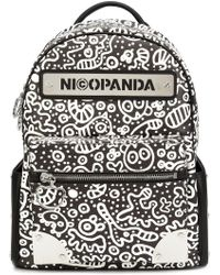 Nicopanda - - 'panda Nation' Backpack - Women - Polyurethane - One Size - Lyst