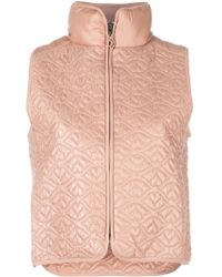 See By Chloé See By Chloé Big Bisou Lightweight Puffer Gilet - Multicolour