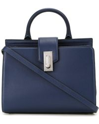Marc Jacobs Small 'west End' Top Handle Tote Bag - Blue
