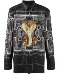 Givenchy - Cobra Print Shirt - Lyst