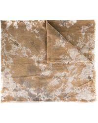 Avant Toi - Camouflage Print Scarf - Lyst