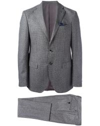 Al Duca d'Aosta - Fitted Two Piece Suit - Lyst