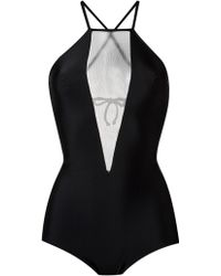 Giuliana Romanno - Panelled Swimsuit - Lyst