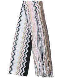 M Missoni - Tassel Detail Scarf - Lyst