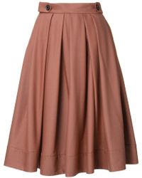 Loveless | Mid-rise Pleated Skirt | Lyst