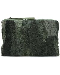Mr & Mrs Italy - Patchwork Clutch - Lyst