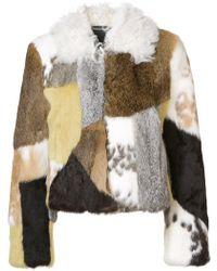 Proenza Schouler Patchwork Fur Jacket - Multicolor