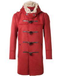 Loveless - Hooded Duffle Coat - Lyst