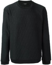 CALVIN KLEIN 205W39NYC - Quilted Sweatshirt - Lyst