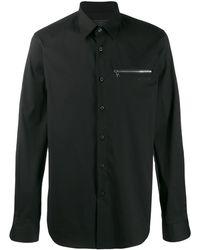 Prada - ジップポケット シャツ - Lyst