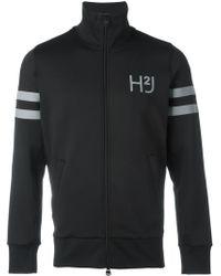Hydrogen - Logo Print Zipped Jacket - Lyst