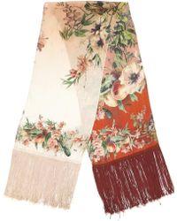 Jean Paul Gaultier - Floral Print Scarf - Lyst