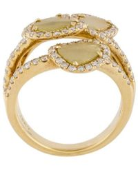 Saqqara - 'four Quartets' Diamond Ring - Lyst