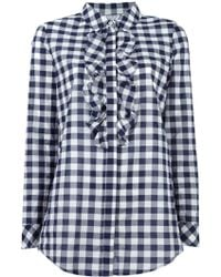 Twin Set - Gingham Check Shirt - Lyst