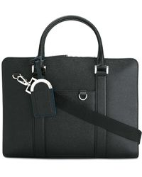 BVLGARI - - Double Strap Briefcase - Men - Calf Leather - One Size - Lyst