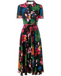 Valentino Tropical Dream Dress - Black