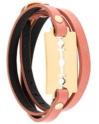 McQ - Razor Wrap Bracelet - Lyst