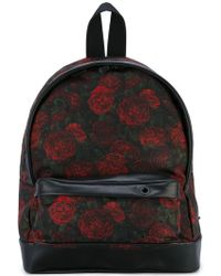 Palm Angels - Roses Print Backpack - Lyst