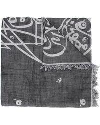 Thamanyah - Bleach Print Scarf - Lyst