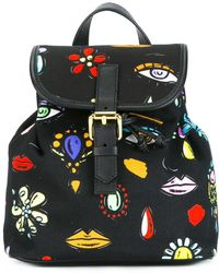 Boutique Moschino - Canvas Mini Backpack - Lyst