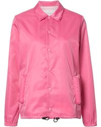 Julien David Buttoned Jacket - Pink