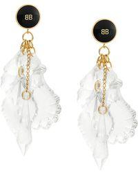 Balenciaga - Pic Pendant Earrings - Lyst