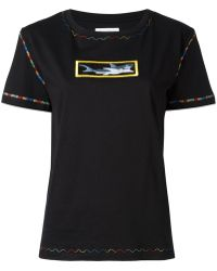 JW Anderson - Shark Embroidery T-shirt - Lyst