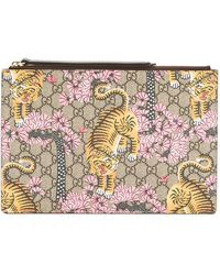 Gucci - - Bengal Clutch Bag - Women - Leather - One Size - Lyst