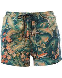 Dries Van Noten - - Leaves Print Swim Shorts - Men - Polyamide - M - Lyst