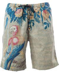 Dries Van Noten - - Macaw Print Swim Shorts - Men - Polyamide - L - Lyst