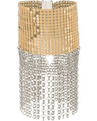 Paco Rabanne - Studded Chains Bracelet - Lyst