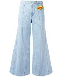 Au Jour Le Jour - Wide-leg Jeans - Lyst