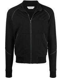 Z Zegna ジップアップ スウェットシャツ - ブラック