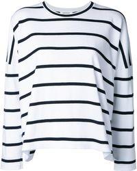 Enfold - Striped Sweatshirt - Lyst