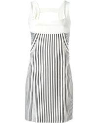Plein Sud Jeanius - Striped Dress - Lyst