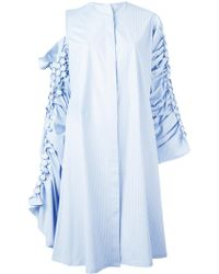 Reemami - Buttoned Sleeves Dress - Lyst