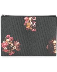 Dior Homme - Floral Print Clutch - Lyst