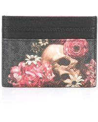 Dior Homme - Floral Print Cardholder - Lyst