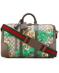 Gucci - Bengal Tiger Holdall - Women - Calf Leather/polyurethane - One Size - Multicolor