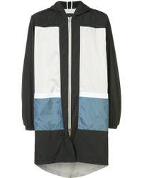 Iise - Long Hooded Jacket - Lyst