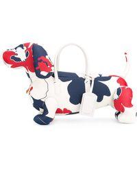 Thom Browne Dog Tote - White