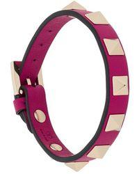 Valentino Garavani Rockstud Bracelet - Pink
