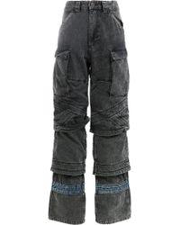 Y. Project - Pantalones holgados tipo cargo - Lyst