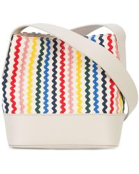 Loeffler Randall - Rainbow Stripe Bucket Crossbody Bag - Lyst