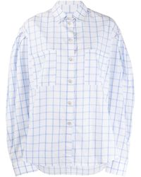 Natasha Zinko - チェック オーバーサイズシャツ - Lyst