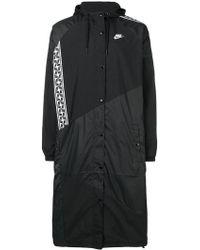 Nike - Woven Long Jacket - Lyst