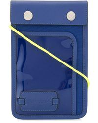 JW Anderson Pulley Logo Patch Pouch - Blue