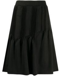 Nina Ricci プリーツ スカート - ブラック