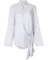 Loewe - Single Knot-detail Shirt - Lyst